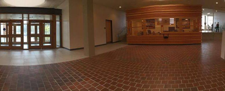 New entrance interior