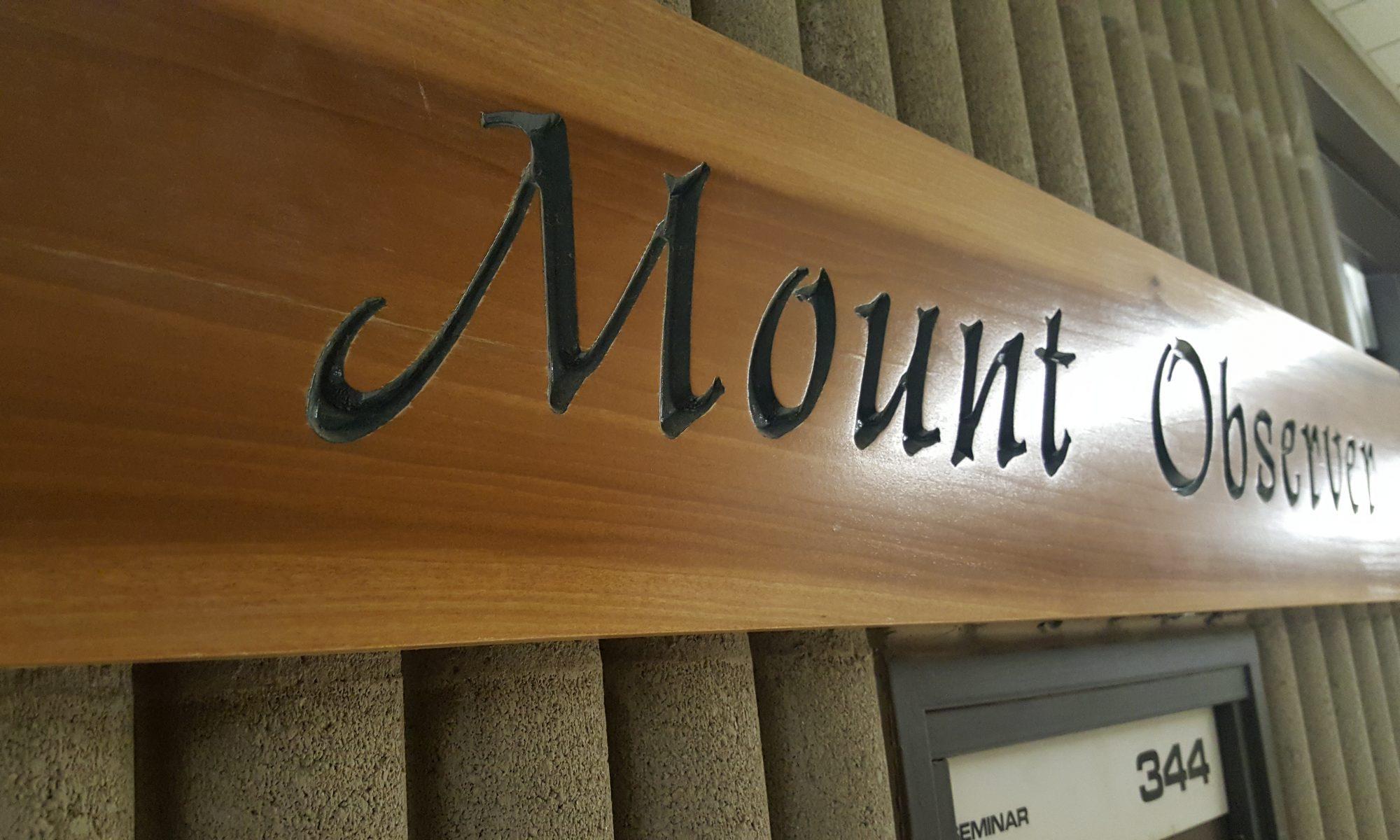 Mount Observer